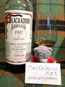 Auchentoshan 1997 18 yo by Blackadder Raw Cask
