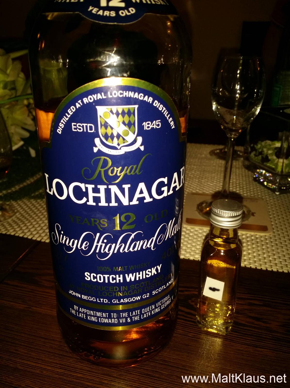 Royal Lochnagar 12 yo - 1990s bottling