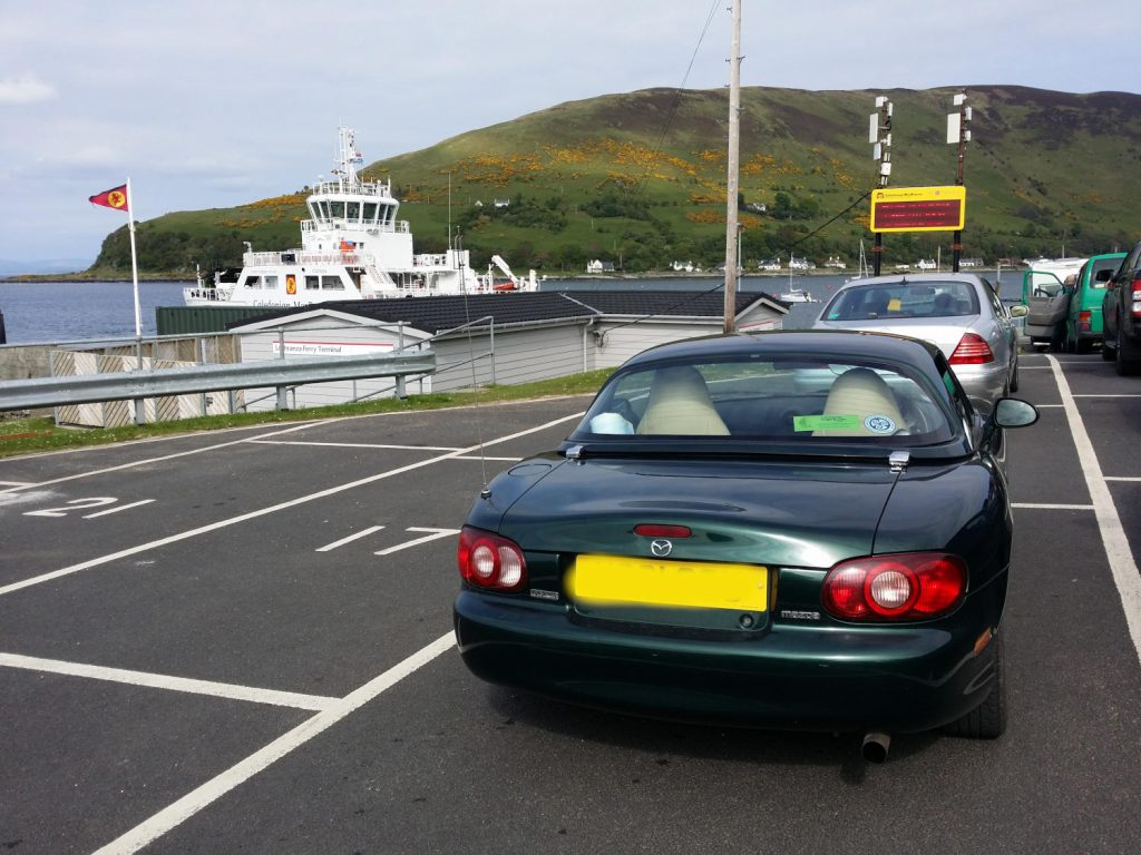 Just about made our ferry back to Kintyre!