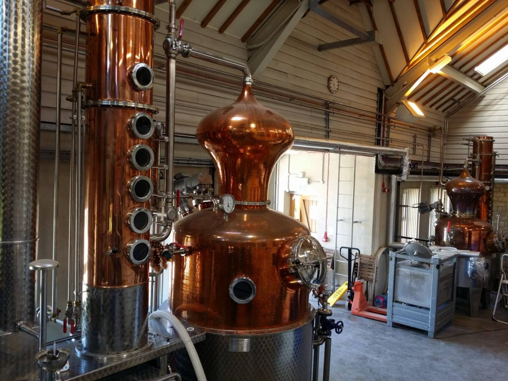 Gin (and rum) stills