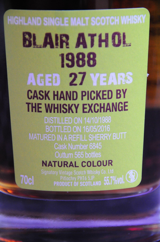 Blair Athol 1988 27 yo