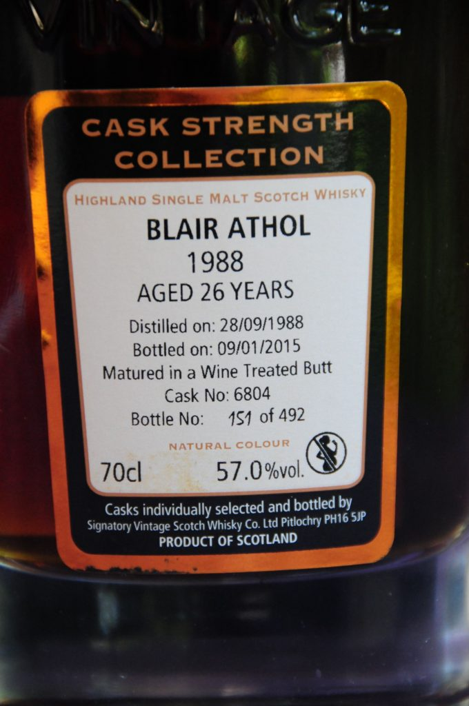 Blair Athol 1988 26 years