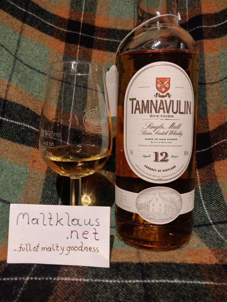 Tamnavulin 12 years Single Malt bottled ca. 2005