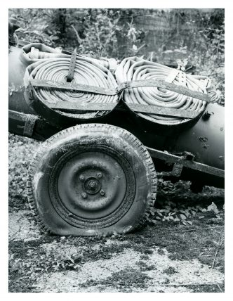 Flat and tyred