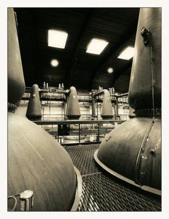 Auchroisk Destillerie Brennhaus